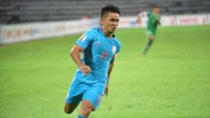 Sunil Chhetri India Macau 2019 AFC Asian Cup qualifiers