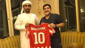 Diego Maradona  Al Fujairah SC 07052017