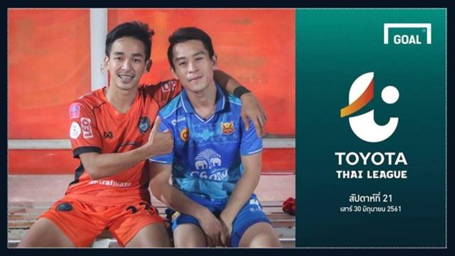 Image result for TOYOTA THAI LEAGUE PREVIEW : นัดที่ 21 (วันเสาร์ ที่ 30 มิถุนายน 2018)