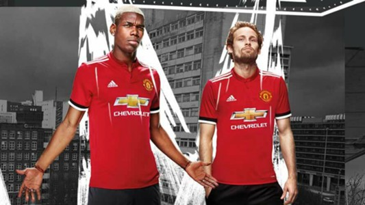 Manchester United 2017-18 home kit