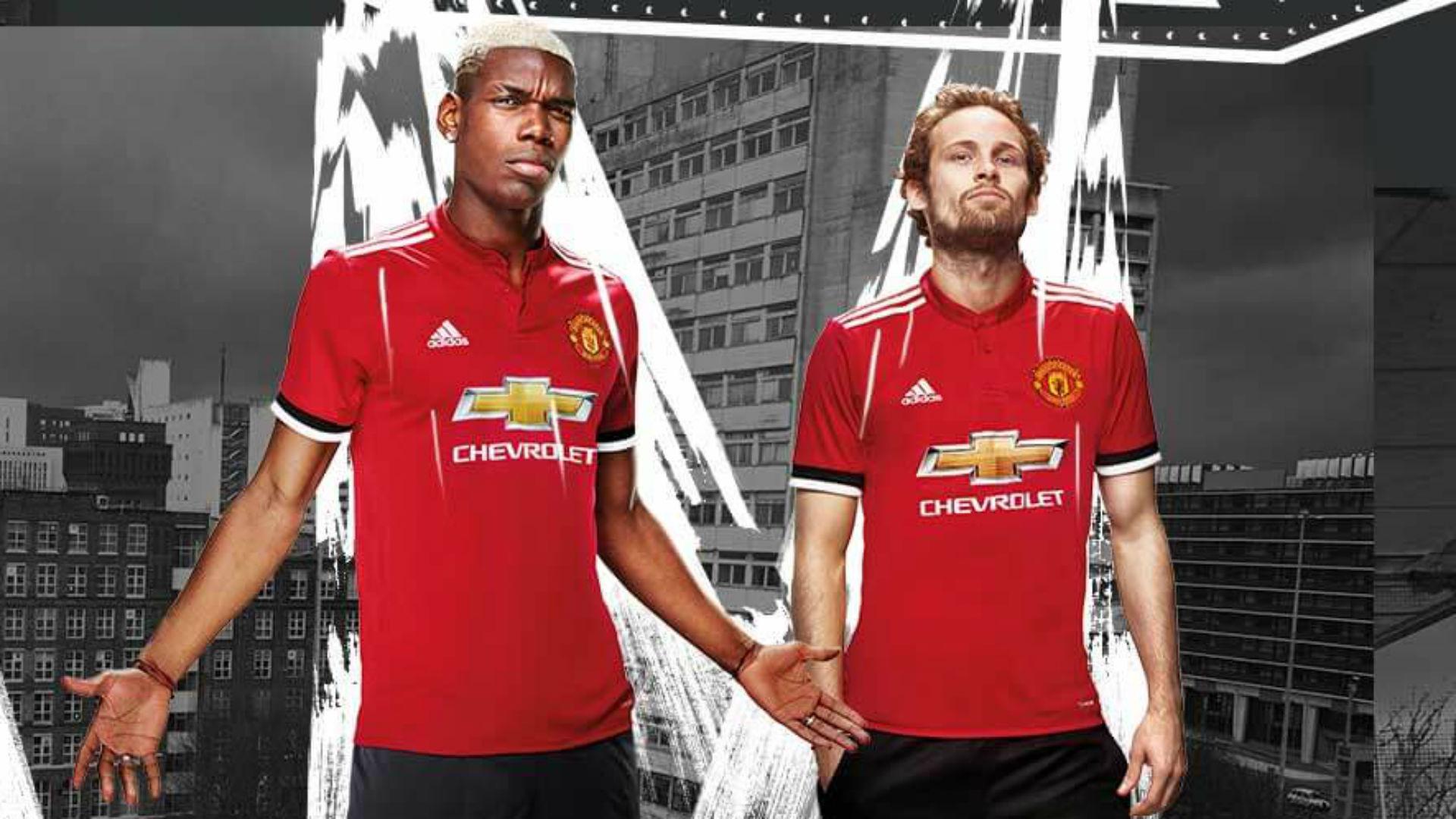 Manchester United 2017-18 home kit