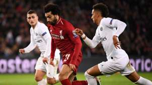 Salah Kehrer Verratti PSG Liverpool 28112018