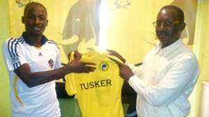 Tusker sign from Uganda.
