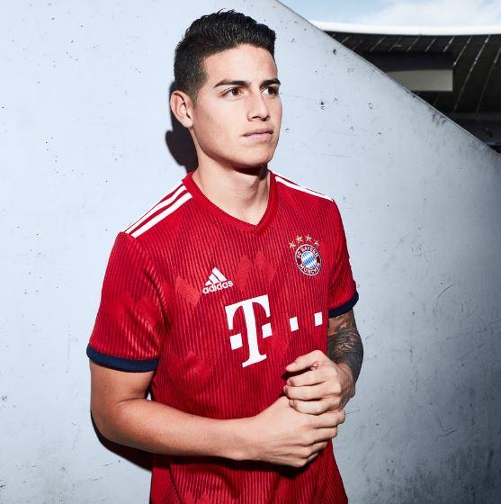 FC Bayern jersey 2018/19
