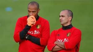 Thierry Henry Roberto Martinez Belgium