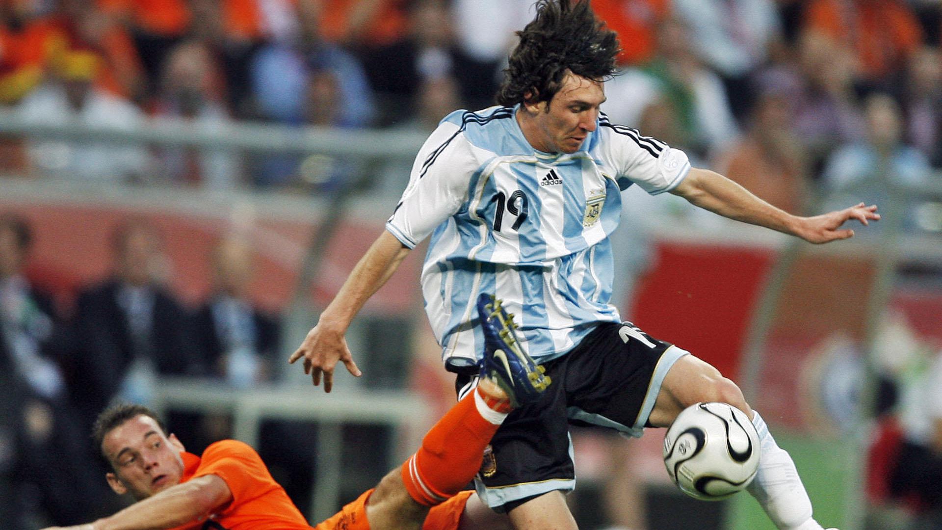 Lionel Messi Argentinien Holland 21062006