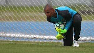 Jefferson Botafogo treino 14 05 2017