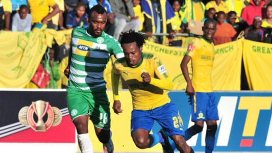 Given Mashikinya, Bloemfontein Celtic & Percy Tau, Mamelodi Sundowns, May 2018
