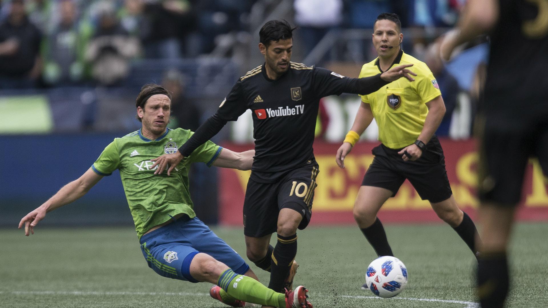 Carlos Vela se estrena con gol de crack en la MLS