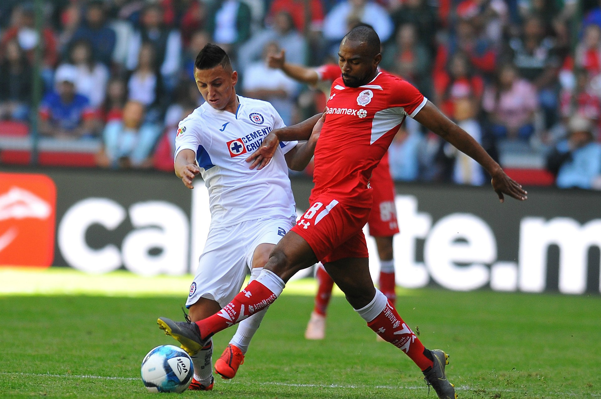 Toluca Cruz Azul Roberto Alvarado William Da Silva