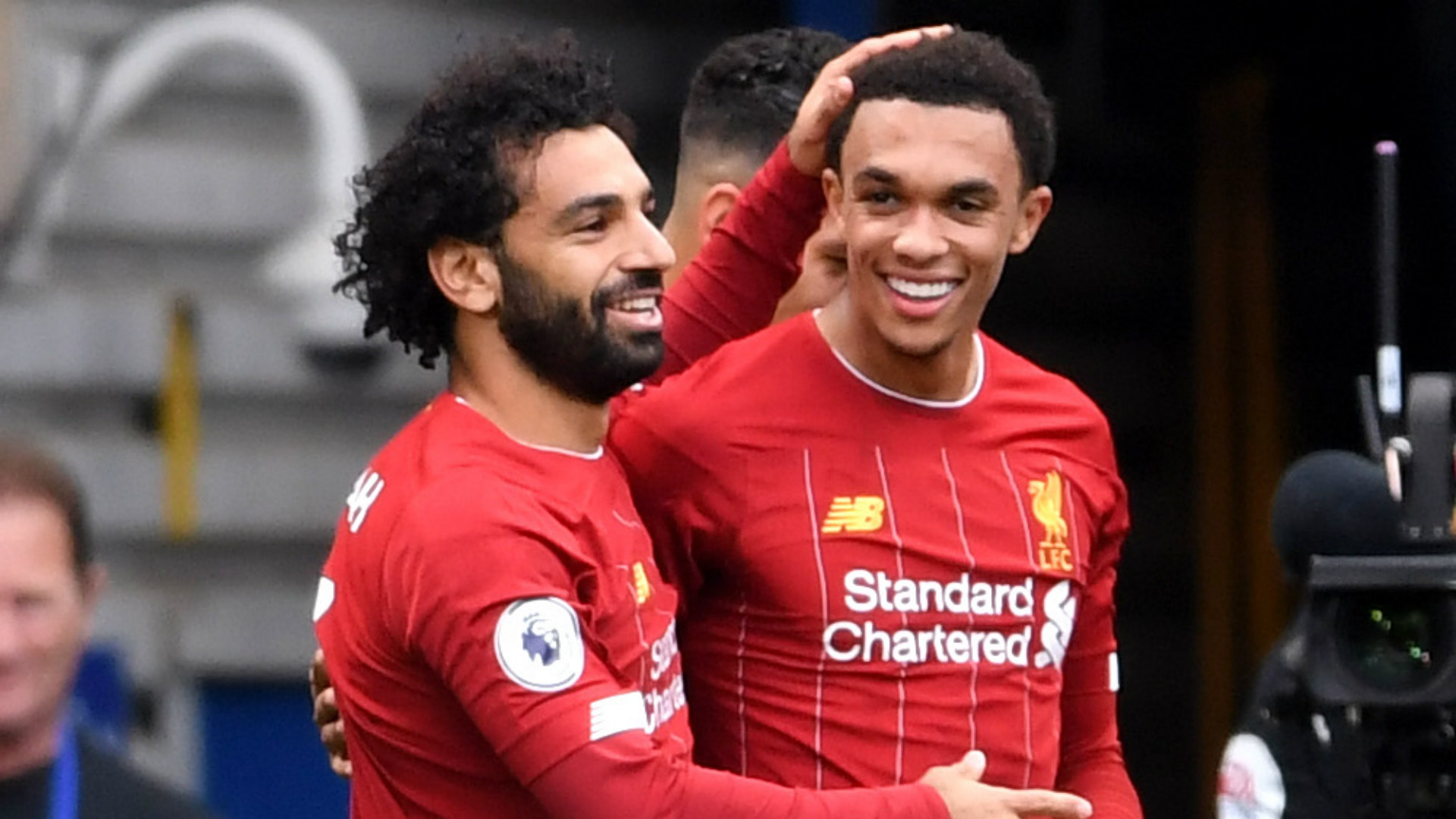 Mohamed Salah Trent Alexander-Arnold Liverpool 2019-20