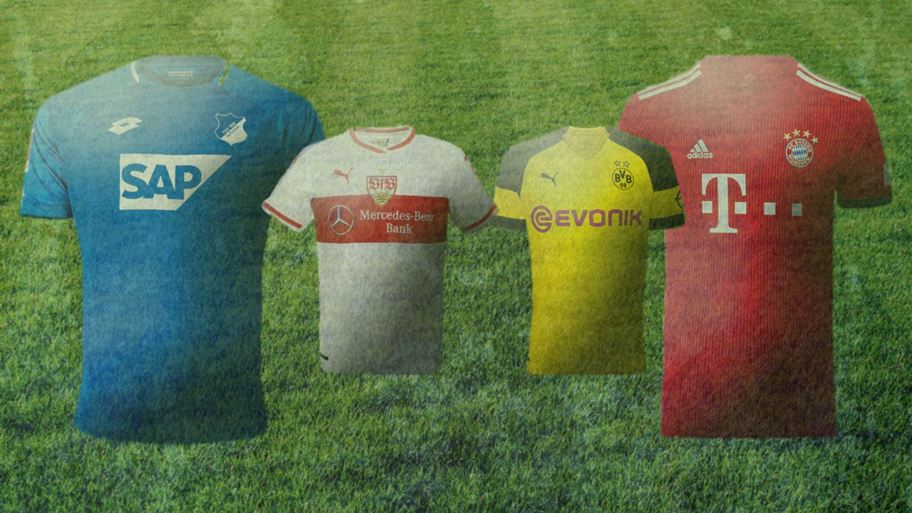 Bayern bvb co die neuen trikots der bundesliga klubs for Bundesliga trikots
