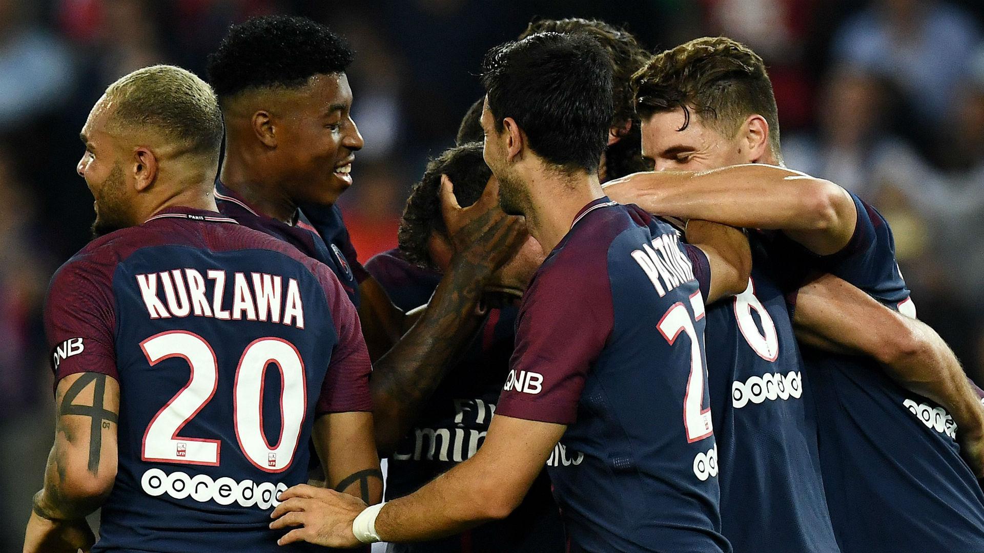 PSG ASSE Ligue 1 25082017