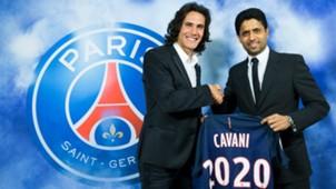 Edinson Cavani PSG 2020