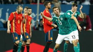 Deutschland Spanien Thomas Müller