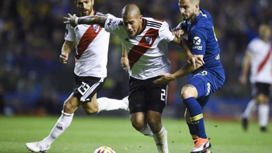 Boca River Superliga Jonatan Maidana Dario Benedetto 230918