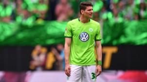 Mario Gomez VfL Wolfsburg Borussia Monchengladbach Bundesliga 13052017