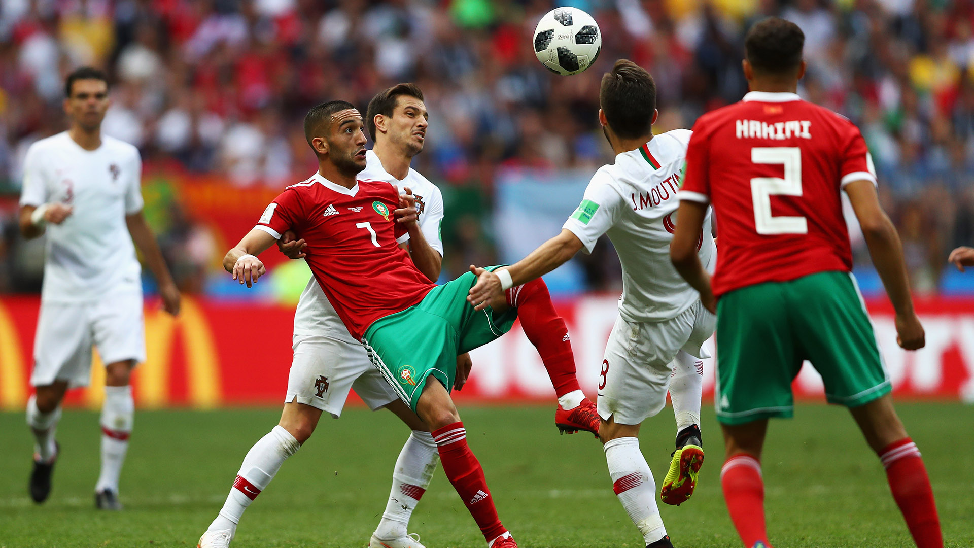 Late VAR goal saves Spain from defeat to Morocco