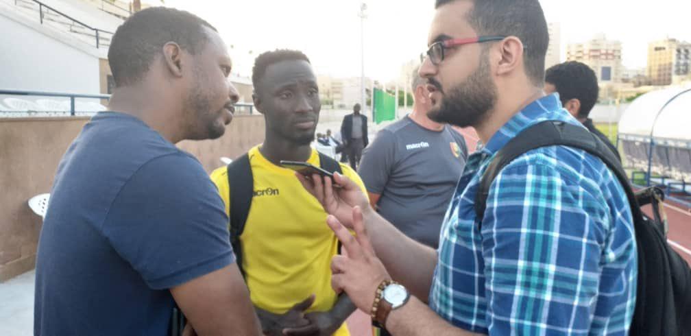 Mahmoud Diaa Interviewing Naby Keita