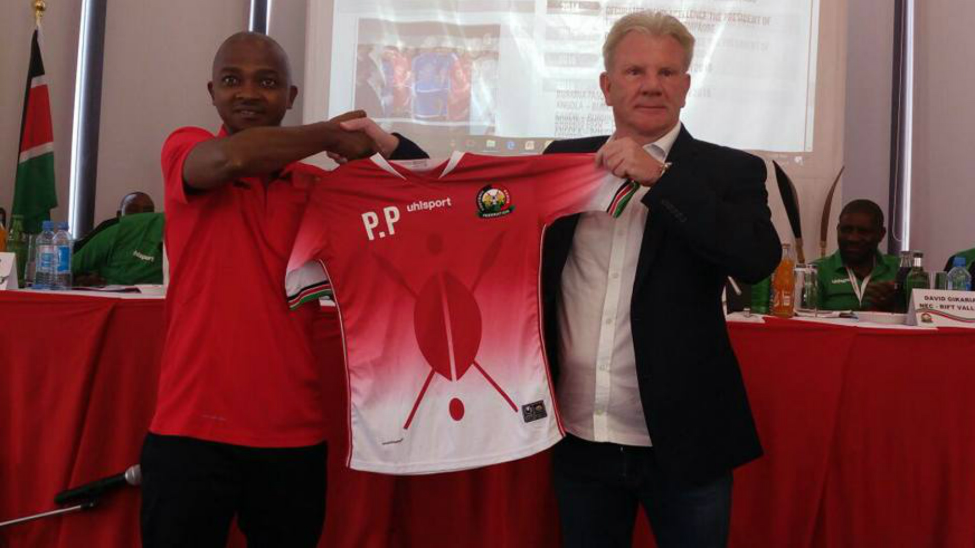 Okumbi out as Belgian Put appointed Harambee Stars coach