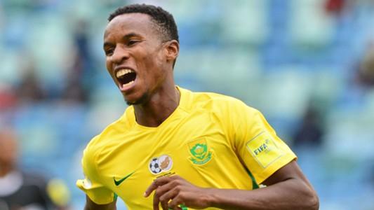 Themba Zwane Bafana Bafana