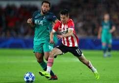 PSV Tottenham Chucky Lozano