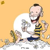 Cartoon Cassano Hellas Verona