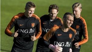 Netherlands training, 10092018