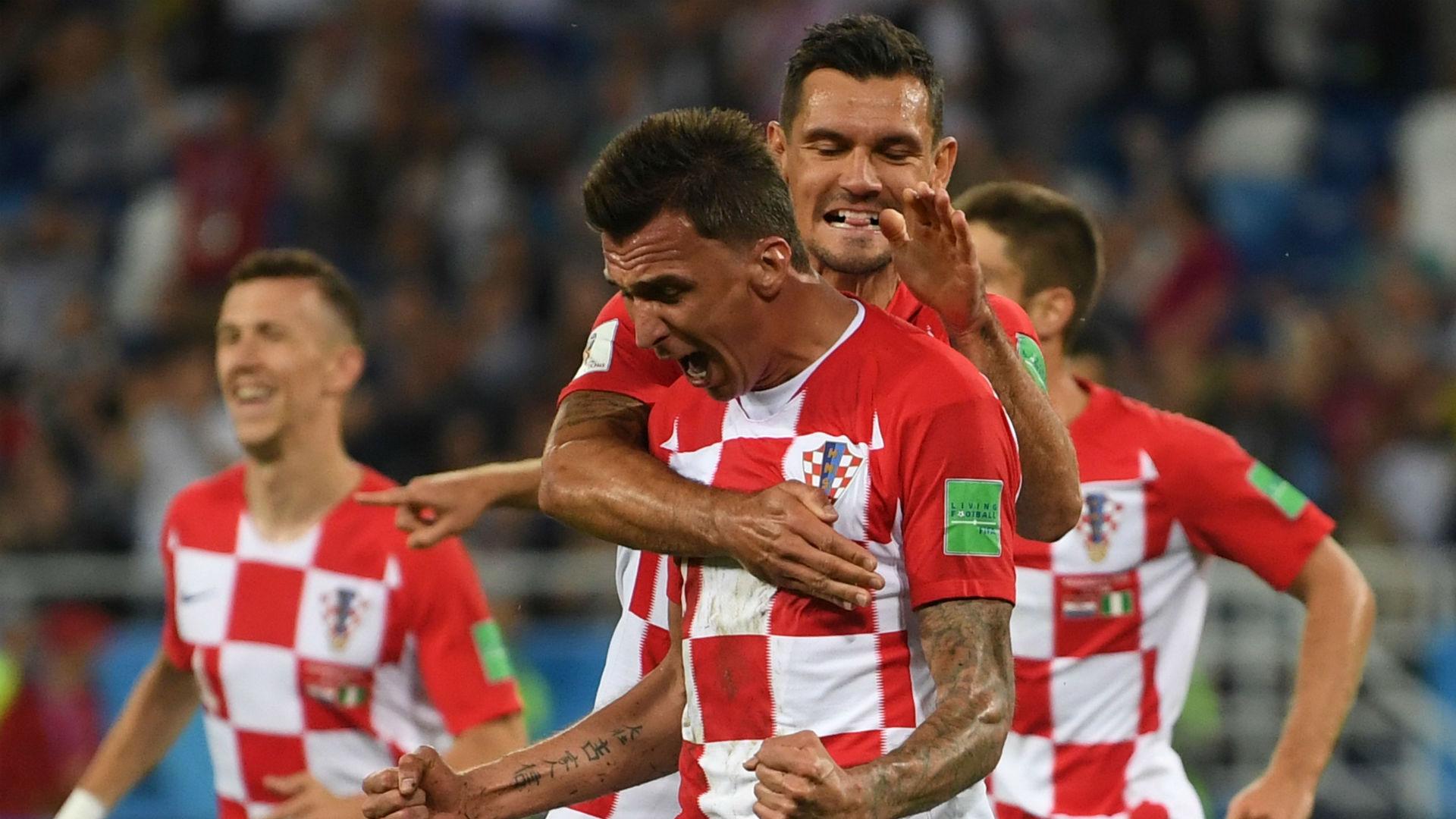Mario Mandzukic Croatia Nigeria World Cup 2018