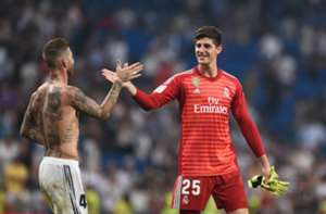 COURTOIS REAL MADRID LEGANES LALIGA