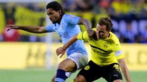 Douglas Luiz Mario Gotze Man City Borussia Dortmund ICC 2018 20072018
