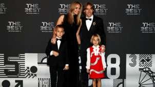 fifa awards the best - luka modric family - 24092018