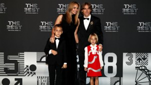 fifa awards the best - luka modric family - 24092018