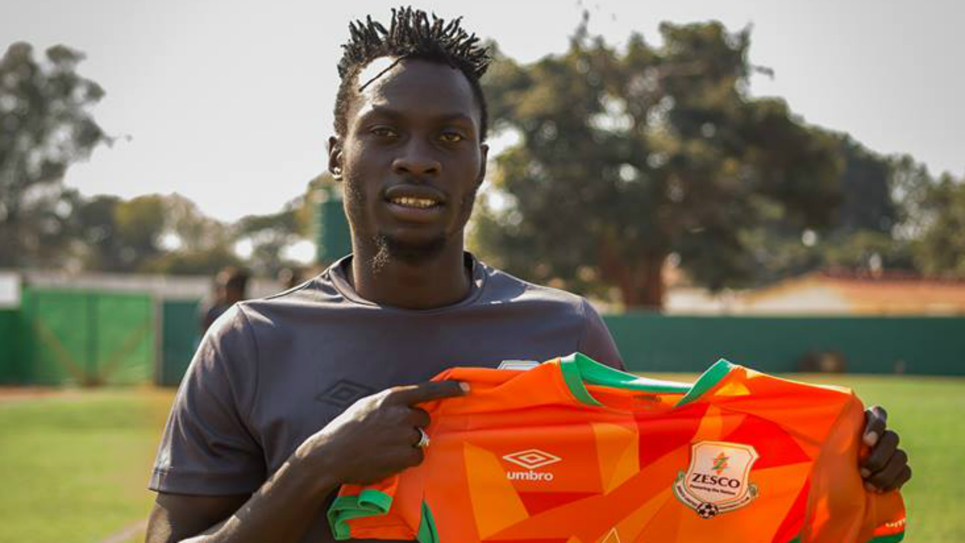 Zesco United striker Jesse Were