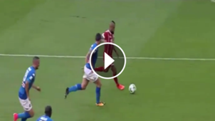 play Vidal pifia ante Napoli