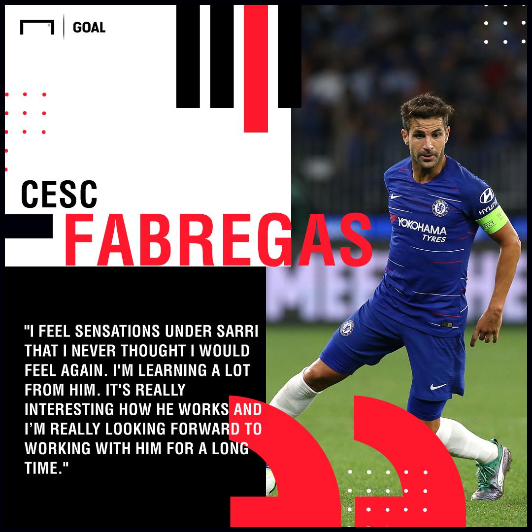 Cesc Fabregas Maurizio Sarri PS