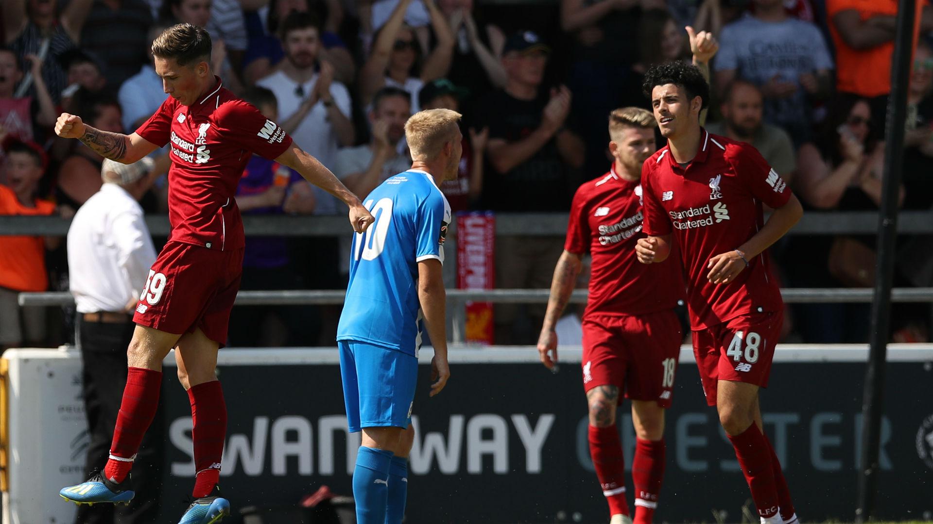 Harry Wilson scores for Liverpool
