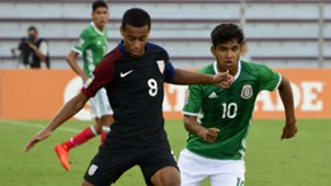 Tyler Adams Eduardo Aguirre USA U20 vs. Mexico U20