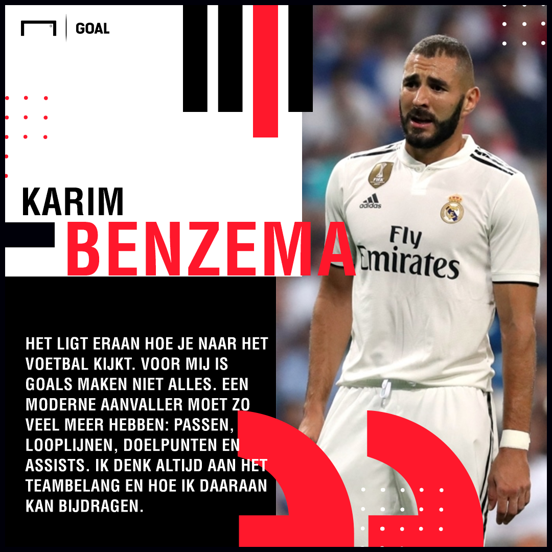 Karim Benzema quotes Dutch