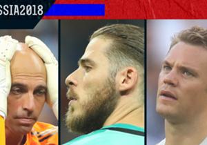 Piala Dunia 2018 memunculkan banyak sekali kesalahan yang dilakukan oleh penjaga gawang dan berujung pada kebobolan. Simak siapa saja kiper-kiper yang membuat blunder di Rusia!