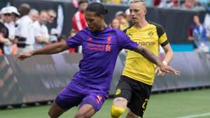 Mariuys Wolf Virgil Van Dijk Liverpool Borussia Dortmund ICC 2018 22072018