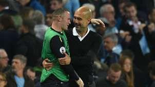 Pep Guardiola Wayne Rooney Manchester City Everton Premier League