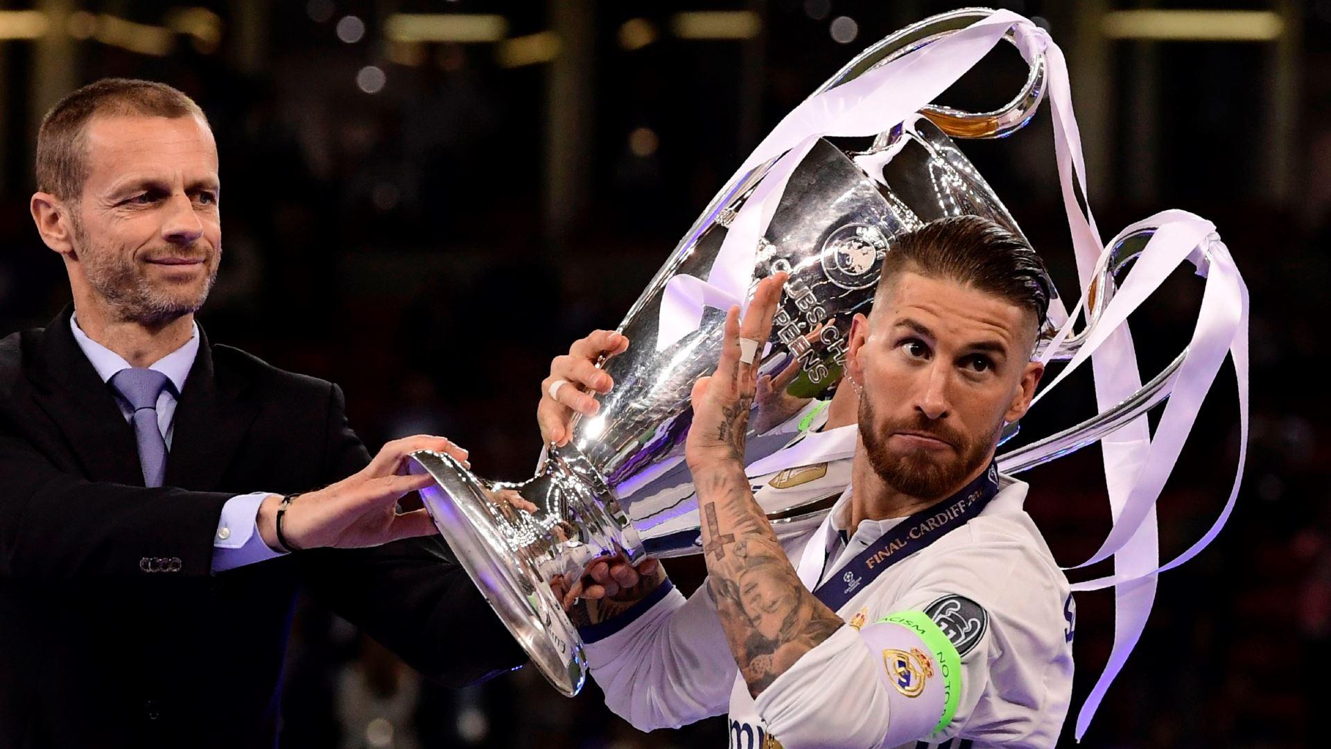 Sergio Ramos Juventus Real Madrid UCL 03062017