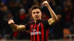 Piatek AC Milan Napoli