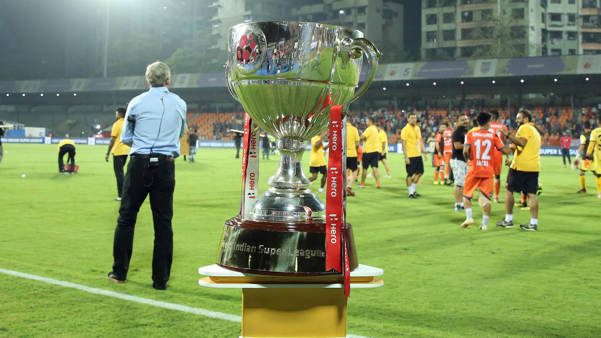 ISL 2018-19 trophy