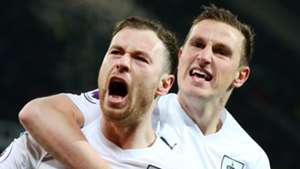 Ashley Barnes, Chris Wood, Burnley
