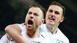 Ashley Barnes, Chris Wood, Burnley
