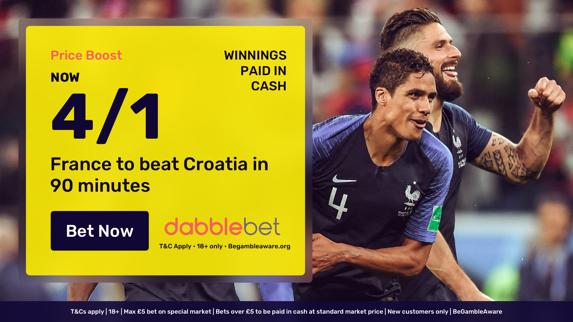 France v Croatia Betting Tips: Latest odds, team news, preview and predictions