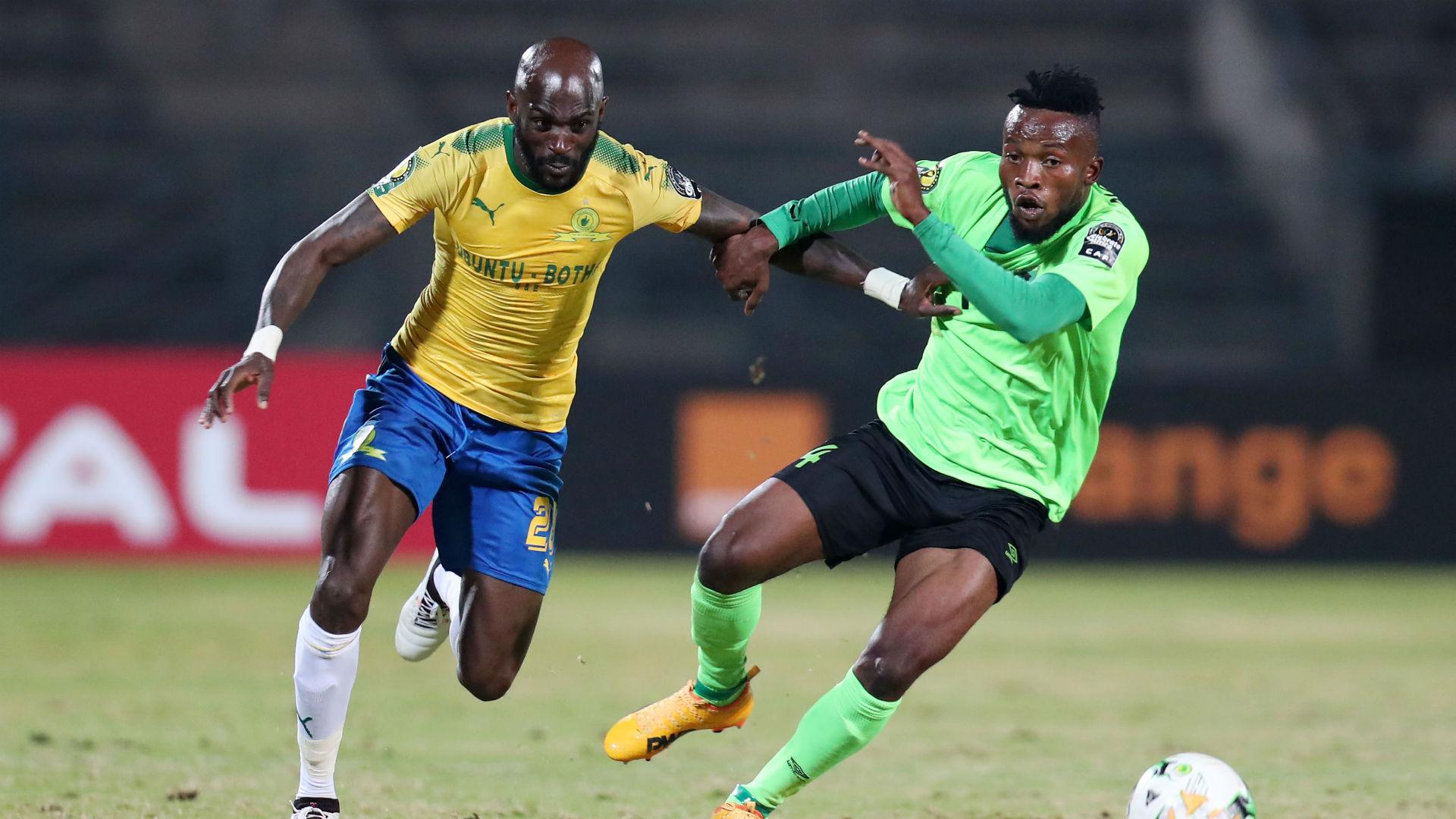 Anthony Laffor of Mamelodi Sundowns vs AS Vita Club