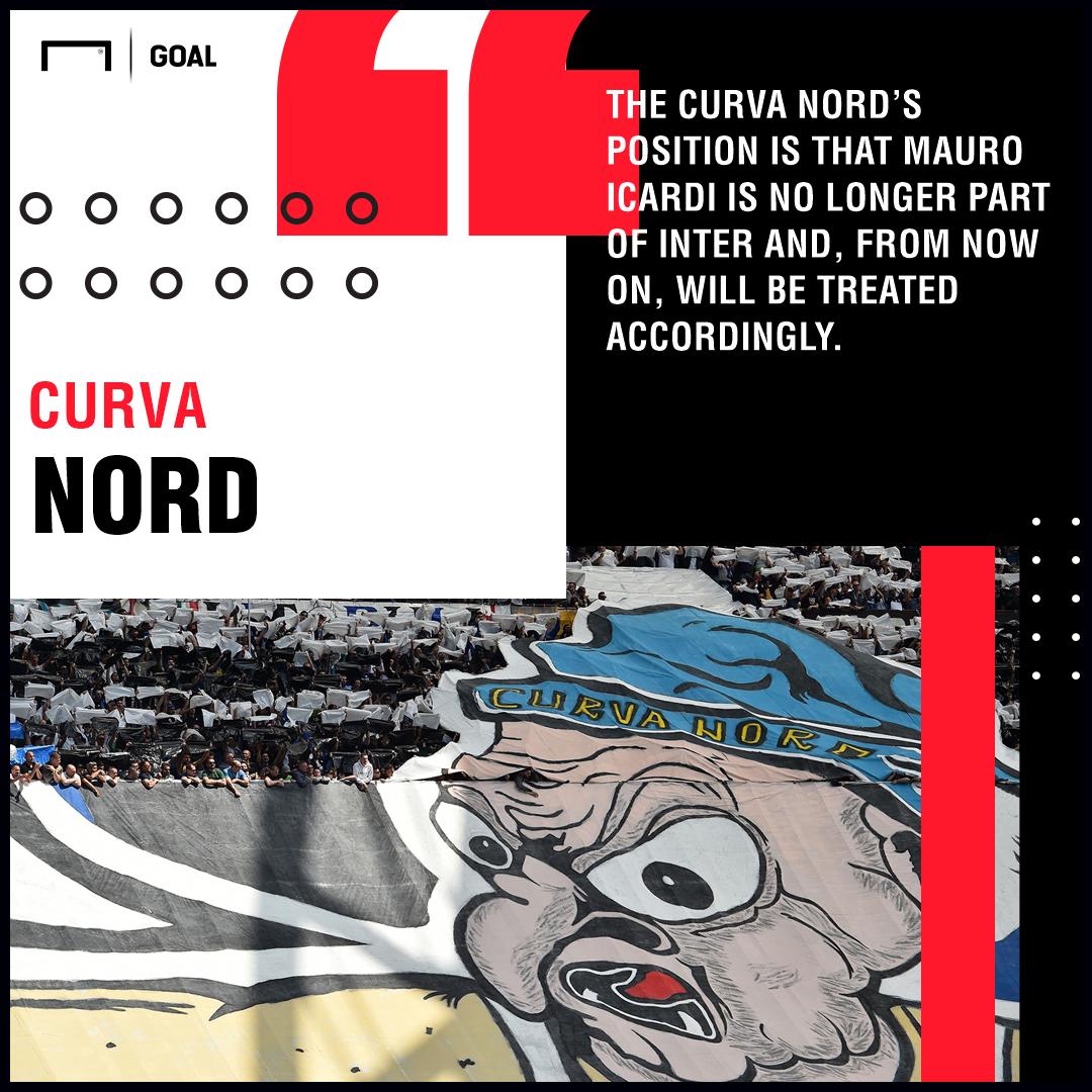 Curva Nord Icardi Inter PS